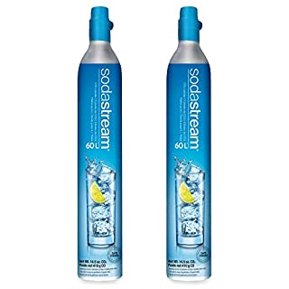 SodaStream 60L Co2 Exchange Carbonator, 14.5oz, Set of 2, plus $15 Amazon.com Gift Card with Exchange