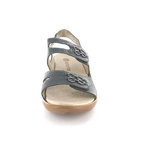 Ue Remonte Azul Sandalette R855514 Mulheres 38 Da Rq8Y7R