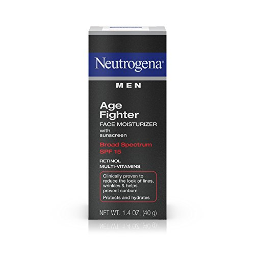 Neutrogena Men Age Fighter Face Moisturizer SPF 15 1.40 oz (Pack of 3)