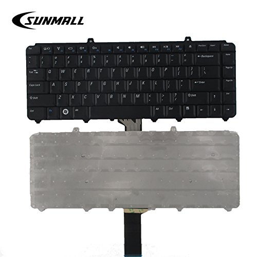 SUNMALL Keyboard Replacement Compatible with Dell Inspiron 1318 1520 1521 1525 1525se 1526 1526se 1545 1546, Vostro 1400 1410 1420 1500, XPS M1330 M1530 0NK750 9J.N9283.001 NSK-D9001 Laptop ()