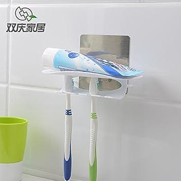 Innovador con ventosa soporte para cepillos de dientes de ...