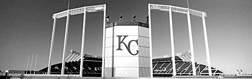 Baseball stadium, Kauffman Stadium, Kansas City, Missouri by Panoramic Images Art Print
