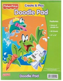 Fisher Price Sheets (Fisher-Price Create & Play Doodle Pad, 80-Sheets)