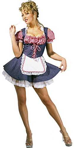 Farmer's Daughter Costume (Farmers Daughter Costume - Medium - Dress Size 10-12)