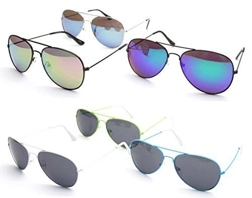 C3002 Style Vault 80s Sunglasses *Pack of 6 (#29, UV400)