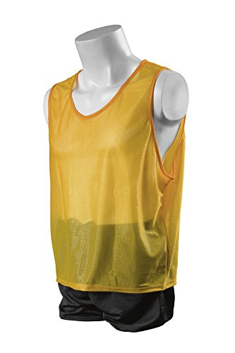 Kwik Goal Deluxe Scrimmage Vest, Yellow, XX-Small by Kwik Goal