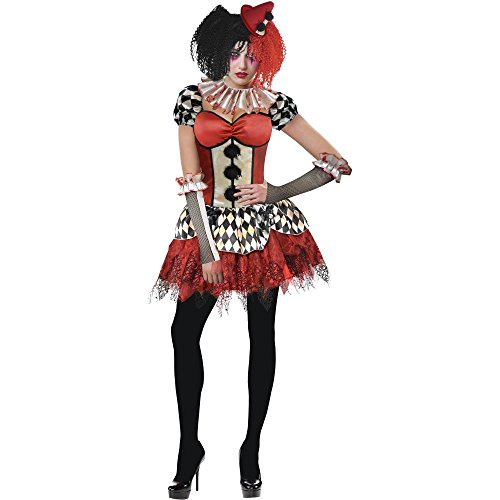 Freakshow Clown Adult Halloween (Acrobat Costume For Adults)