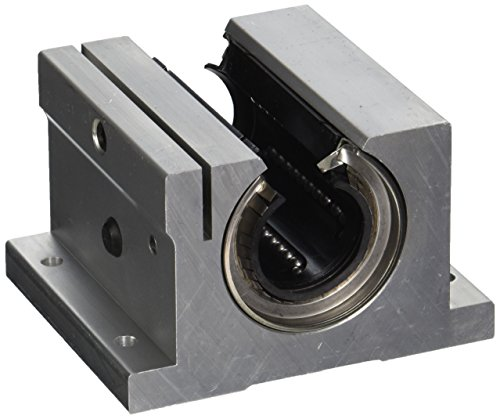 Thomson SPB20OPN-CR Super Ball Bushed Bearing, Single-Type Pillow Block, Corrosion Resistant, Open Type, 1.25