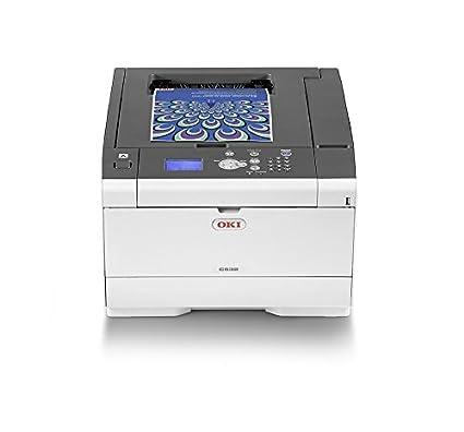 OKI C532DN - Impresora con tecnología laser LED, color blanco