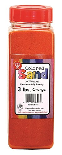 Hygloss Products, Colored Craft Sand in No-Mess Bottle, 3...