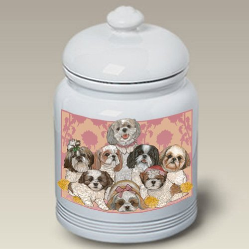 Shih Tzus - Best of Breed Treat Jars
