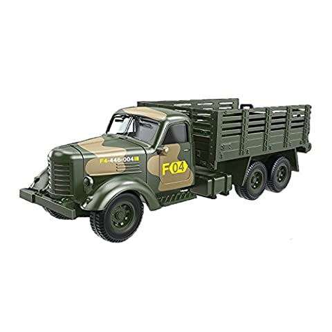 Classic Military Trucks Model Diecast Military Vehicles Car Toys, 1:64 Scale (Military Vehicles 1 18)