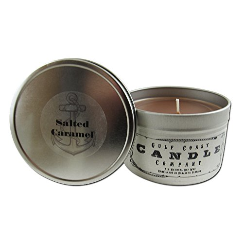 Salted Caramel Scented Candle Natural product image