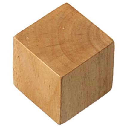 Amazon.com: SODIAL(R)Brief modern wood square decoration ...
