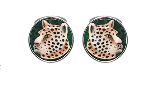 CUFFLINKS LEOPARD URSO LUXURY IN STERLING SILVER 925 AND ENAMELS by Urso Luxury