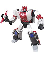Transformers Toys Generations War For Cybertron Deluxe Wfc-S35 Red Alert Action Figure - Siege Chapter - Adults and Kids Ages 8 and Up, 5