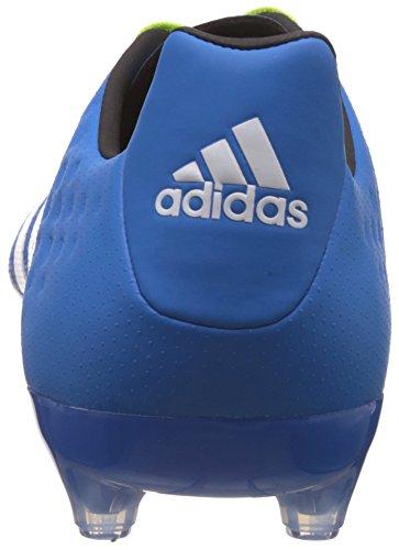adidas Ace 16.2 FG/AG, Scarpe da Calcio Uomo Multicolore (Azul / Verde / Blanco (Azuimp / Seliso / Ftwbla))