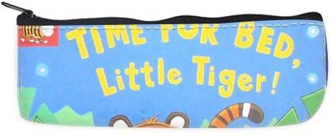 Tiger Keep Calm ITS TIME FOR BED estuche bolsa: Amazon.es: Oficina y papelería
