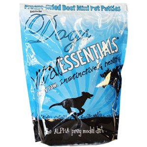 Vital Essentials Freeze-Dried Mini Patties Beef Entree For Dogs – 1 lb., My Pet Supplies