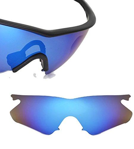 Best SEEK OPTICS Replacement Lenses Oakley M FRAME HEATER - Polarized Blue - M Sale For Frame Oakley Lenses