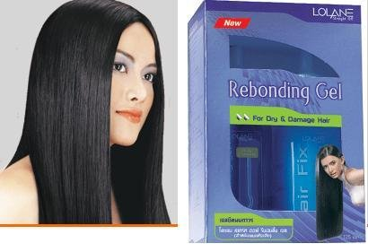 Lolane Hair Straightening Off Rebonding Gel for Dry & Damage