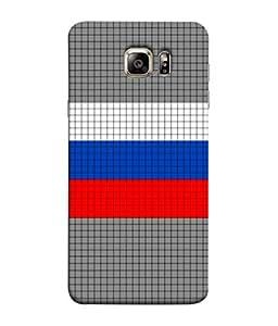 ColorKing Football Russia 09 Multi Color shell case cover for Samsung S6 Edge