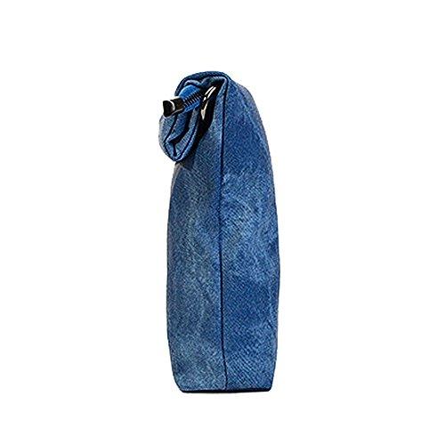 Chic Chic Donne Vintage Party Bag Borsa Da Sera Portafoglio Borsa Per Il Tempo Libero Elegante Chic Classico Retrò Regalo Di Natale Regalo Di San Valentino (blu)