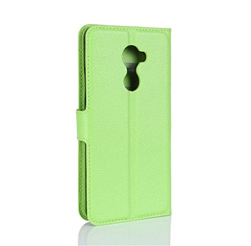 Funda Vodafone smart N8,Manyip Caja del teléfono del cuero,Protector de Pantalla de Slim Case Estilo Billetera con Ranuras para Tarjetas, Soporte Plegable, Cierre Magnético F
