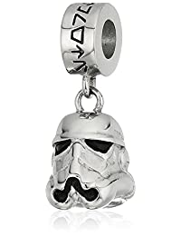 Star Wars Jewelry 3D Storm Trooper Stainless Steel Charm Dangle Drop