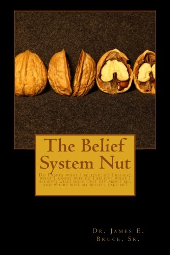 The Belief System Nut: Do I know what I believe; do I believe  what I know; Why do I believe what I believe; What does t
