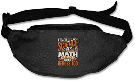 科学教師ユニセックスアウトドアファニーパックバッグベルトバッグスポーツウエストパック