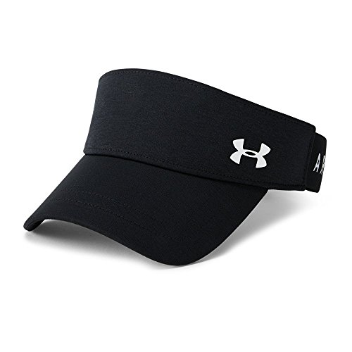 Under Armour Women's Renegade Visor, Black (001)/White, One Size