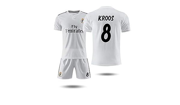 GAIXIA - Camiseta de Manga Corta del Real Madrid 18-19, Camiseta ...