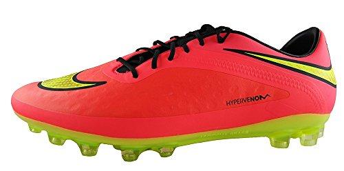 Nike Hypervenom Phatal Ag - Botas de fútbol Hombre Pink (Bright Crimson)