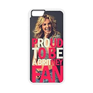 """Hjqi - Customized Britney Spears Phone Case, Britney Spears DIY Case for iPhone6 4.7"""""""