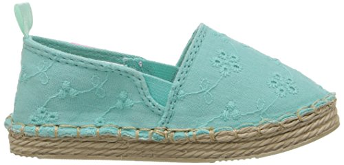 Carter's Astrid Girl's Espadrille Slip-On, Turquoise, 10 M US Toddler by Carter's (Image #7)