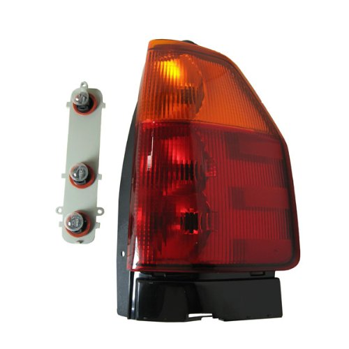 Envoy Tail Lamp Assembly (2002-2009 GMC Envoy & 2006-2009 Envoy XL Taillamp Taillight Rear Brake Tail Light Lamp Right Passenger Side (2002 02 2003 03 2004 04 2005 05 2006 06 2007 07 2008 08 2009 09))