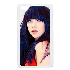 Preview Carly Rae Jepsen Superb funda iPod Touch 4 caja funda del teléfono celular blanco cubierta de la caja funda EEECBCAAJ05468
