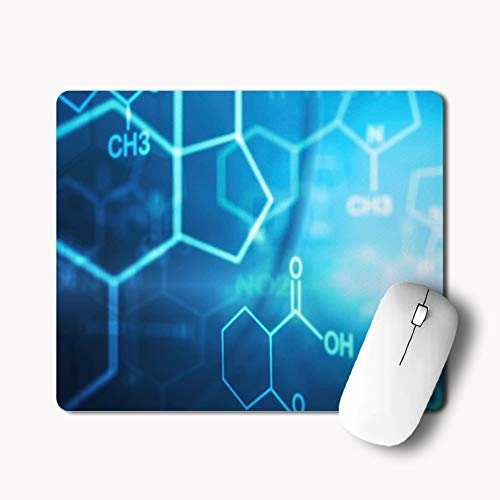 iKraft New Custom Chemistry Printed Non-Slip Rubber Mouse Pad-180x220x3mm-Multi