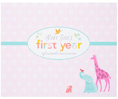 Carter's Pink Animal Themed Baby Girl First Year Calendar, 11