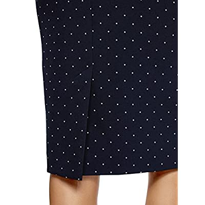 oodji Collection Women's Basic Pencil Skirt at Women's Clothing store