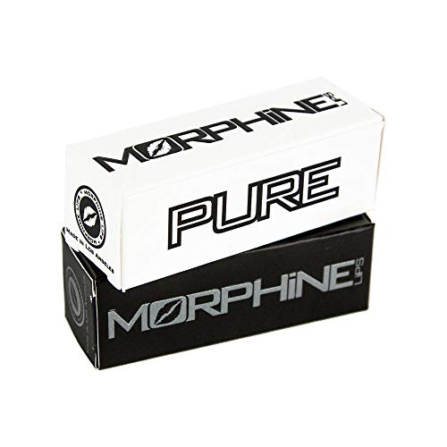 Original and Pure by Morphine Lips - 2 Pack - Buzzing Lip Balm for Perfect Kiss and Moisturizing Chapstick for Natural Hydration, Tingling Gift, Repair Dry Lips, Chap Stick for Men Women, 0.14 oz