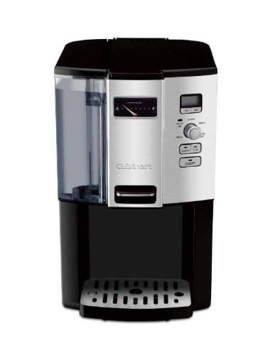 Cuisinart Coffee-on-Demand Automatic Programmable Coffeemaker, 12 Cup Removable Double Walled Coffee and Water Reservoir, with Dispensing Lever, and Auto Brew and 1-4 Cup Brewing, with Auto Clean Feature, Permanent Gold Tone and Charcoal Filter Included by CUISINART (Image #1)
