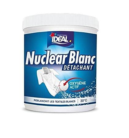 Ideal Nuclear Blanco - Quitamanchas blanqueador de 450 g (2 unidades)