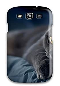 New Cat Tpu Skin Case Compatible With Galaxy S3