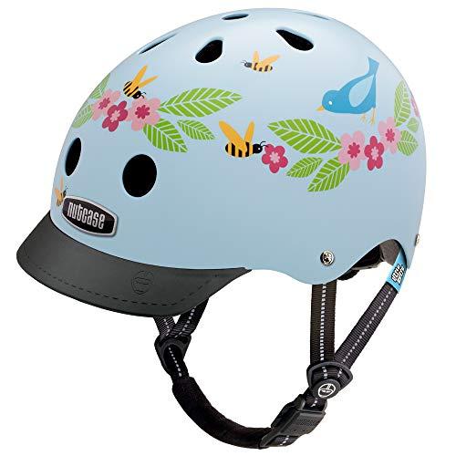 Nutcase - Little Nutty Bike Helmet for Kids, Bluebirds & Bees