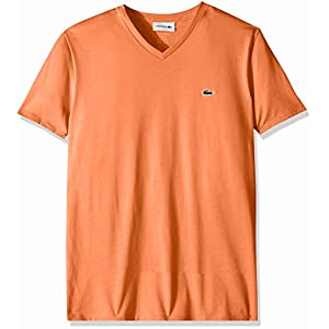 Lacoste Men's S/S V Neck Pima Jersey T-Shirt