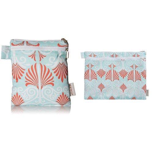 Bebe au Lait Petit and Grand Wet & Dry Bag Set, Alexandria - Laundry Lined Pumps