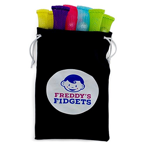 FREDDY'S FIDGETS - Fidget Toy for Sensory Kids and Adults (pack of 10) - Marble Fidget Toy Relieves Stress and Increase Focus -Best Classroom Fidgets and Sensory Toys for ADHD OCD Autism Special Needs