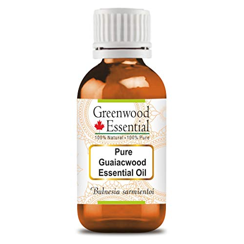 Greenwood Essential Pure Guaiacwood Essential Oil (Bulnesia sarmientoi) 100% Natural Therapeutic Grade Steam Distilled 15ml (0.50 oz)